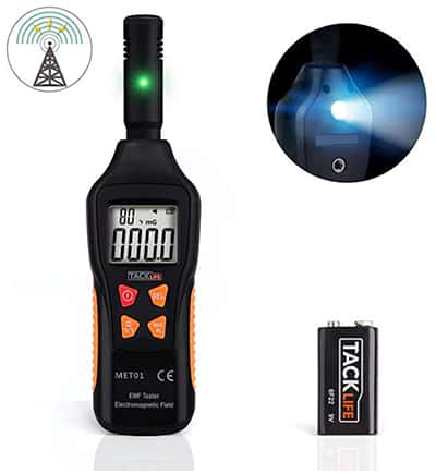 Tacklife MET01 digitales Elektromagnetfeldmessgerät für nur 14,99 Euro