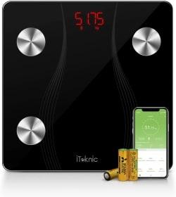 iTeknic digitale Körperfettwaage mit Bluetooth und App für iOS & Android nur 18,99 Euro