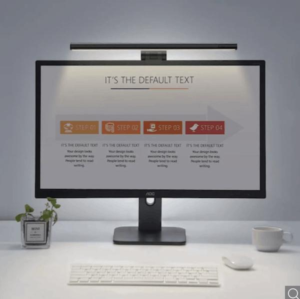 BLACK WEEK Pricedrop! Baseus LED Bildschirm-Hängeleuchte / Schreibtischlampe – dimmbar – nur noch 18,84 Euro