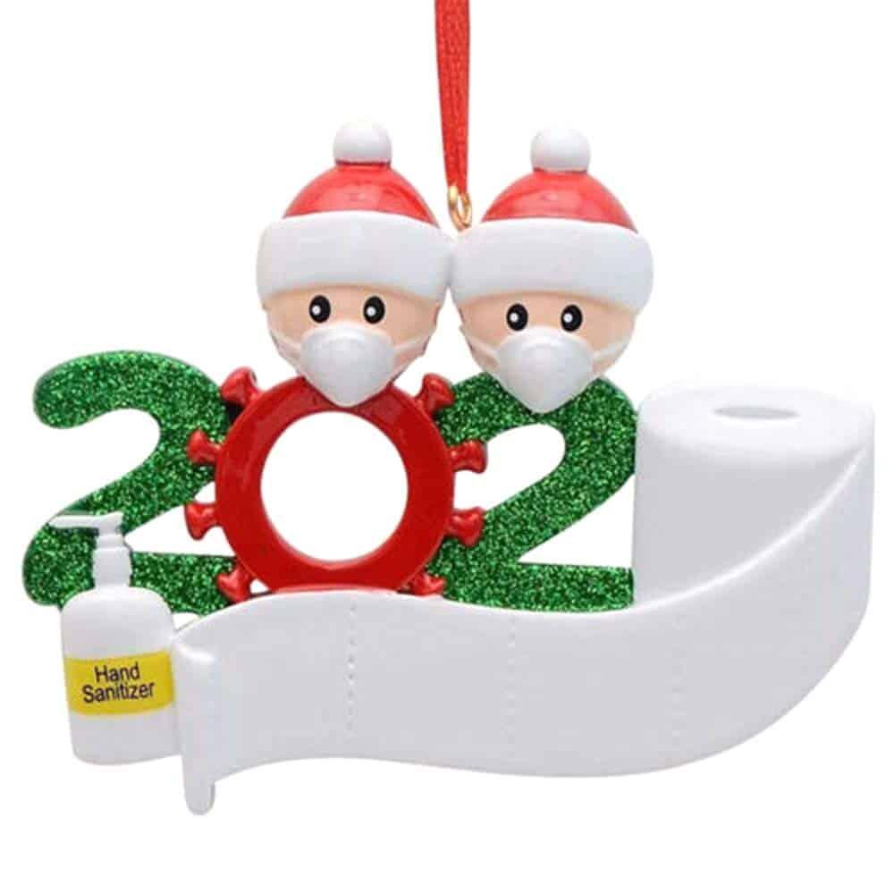 Weihnachtsdeko im Corona Design nur 2,40 Euro inkl. Versand