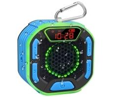 Wasserdichter BassPal Bluetooth-Lautsprecher mit Display für 19,99 Euro