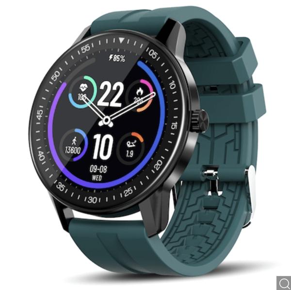 Black  Deal! Kospet MAGIC 2S Smartwatch, Bluetooth 5.0, 3 ATM, 2 Armbänder nur noch 22,07 Euro