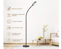 Dodocool LED Stehleuchte mit Touch-Bedienung für 29,99 Euro