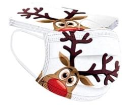 10er Pack HUYURI Mundschutz mit Weihnachtsmotiven für nur 2,99 Euro