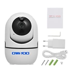 OWSOO 1080P WiFi-Kamera Drahtlose IP-Kamera mit Bewegungserkennung und Nachtsicht für 17,99 Euro