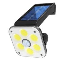 VISLONE LED Solar-Leuchte mit Bewegungsmelder für nur 13,99 Euro