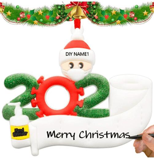QUNPON Weihnachtsschmuck-Kit für den Weihnachtsbaum für nur 4,99 Euro inkl. Versand