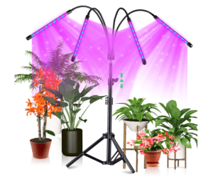 CrazCalf 120-LED Pflanzenlicht mit Stativ (100W) für nur 27,99 Euro inkl. Versand