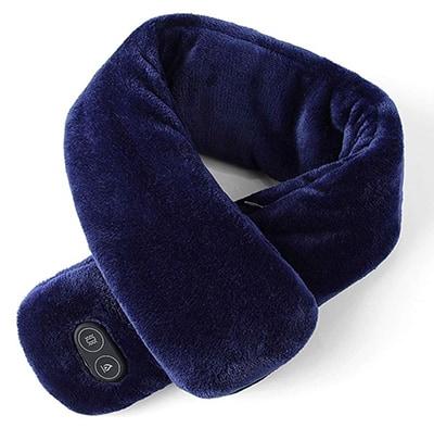 KKmoon beheizte Nackenrolle mit 3 Temperatur- und 4 Vibrationsstufen für nur 14,14 Euro
