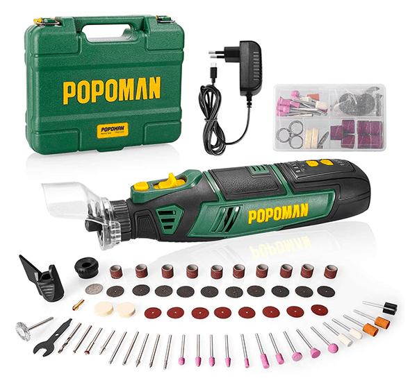 58-teiliges POPOMAN Akku Multifunktionswerkzeug für nur 29,99 Euro