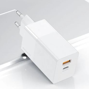 KUULAA KL-CD14 USB-A + C Kombi Schnellladegerät (65 Watt, Quick Charge, Power Delivery) für nur 16,35 Euro inkl. Versand