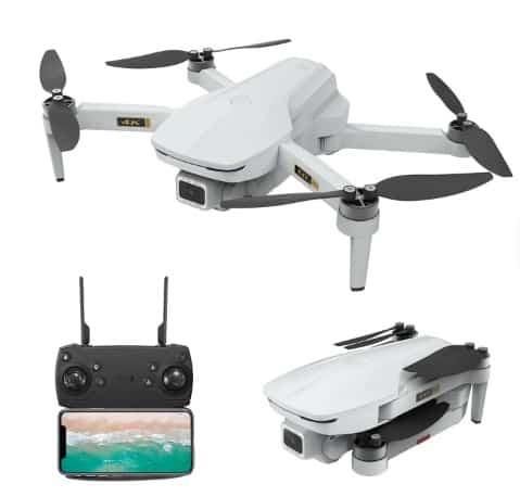 EACHINE EX5 WiFi FPV Drohne mit 4K Kamera und GPS für 102,67 Euro