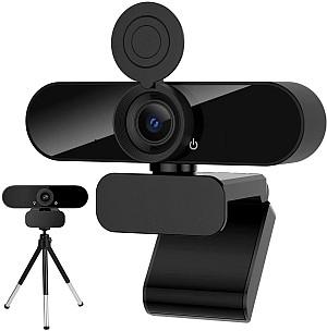 Xiaocai Webcam mit Mikrofon (HD 1080P, 360° Blickfeld, Stativ) für 19,79€ inkl. Versand