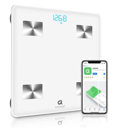 ARBOLEAF Bluetooth Smart Waage für nur 22,26 Euro inkl. Versand (statt 40,- Euro)