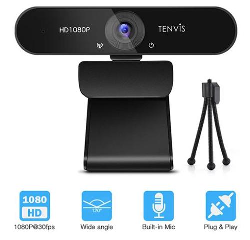 TENVIS TW888 FHD 1080P Webcam mit Mikrofon für nur 21,- Euro inkl. Versand (statt 34,- Euro)
