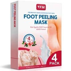 4 Paar Y.F.M Rose Fuß Peeling Masken für nur 7,69€