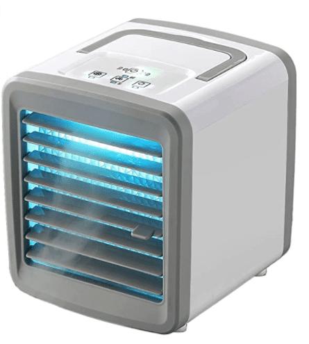 LEEDY tragbares Mini-Klimagerät mit Luftbefeuchter und 2 Modi Air Cooler für nur 24€ inkl. Versand