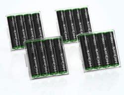16er Pack HiQuick AAA Akkus mit 1,2V und 1100mAh für 9,59€