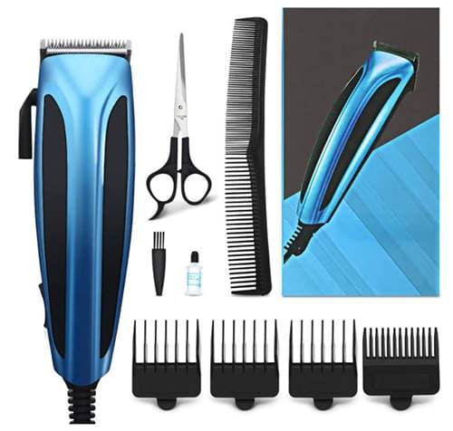 Hizek Haarschneider mit 4 Aufsätzen für nur 8,99€