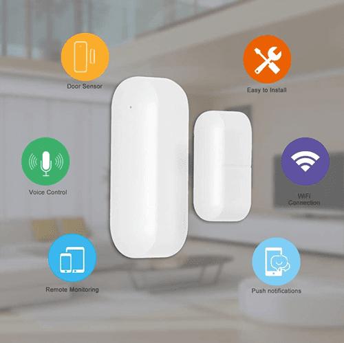 Smart-Home: OWSOO Tür-/Fenstersensor mit Sprachsteuerung für nur 8,99 Euro bei Amazon