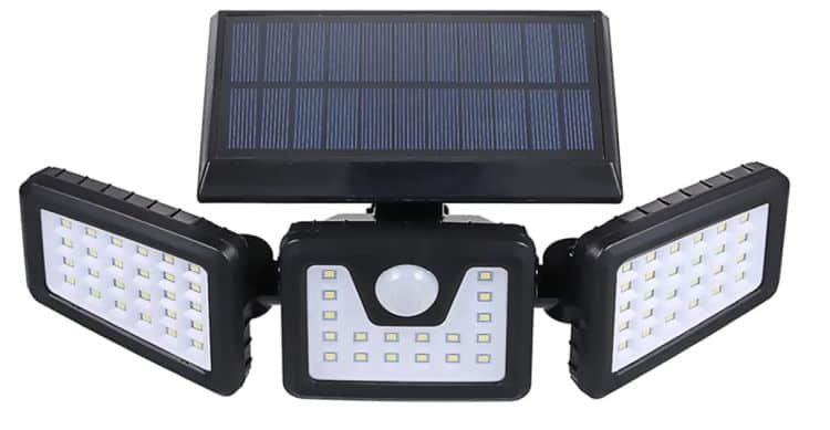 Tomshine 70 LED Solar LED Strahler für 12,09€
