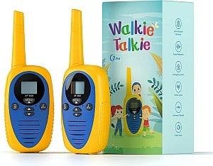 2er Pack: cacagou Walkie Talkie Funkgerät für Kinder für nur 17,99€