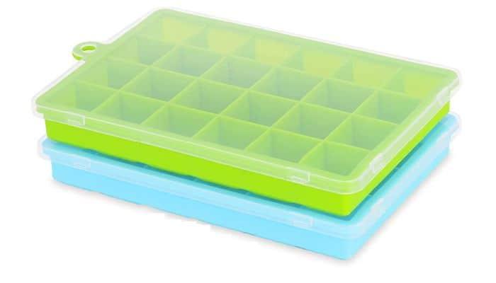 HUIZL Eiswürfelformen aus Silikon